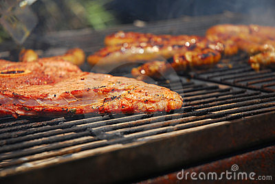 Grilled meat - South African braai