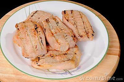 Grilled Pork Loin Steak