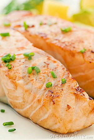 Free Grilled Salmon Stock Photos - 16760223