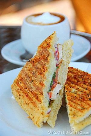 Free Grilled Sandwich Royalty Free Stock Photo - 961955