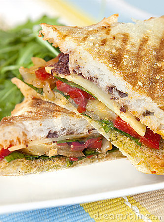 Free Grilled Sandwich Stock Photography - 9755632