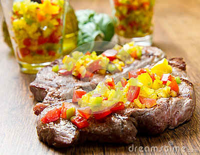 Grilled Steak Meat