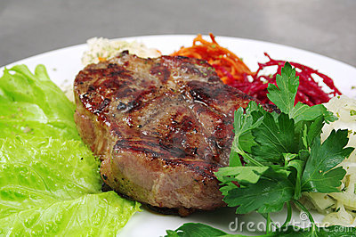 Grilled T-bone Steak Stock Images - Image: 20488614