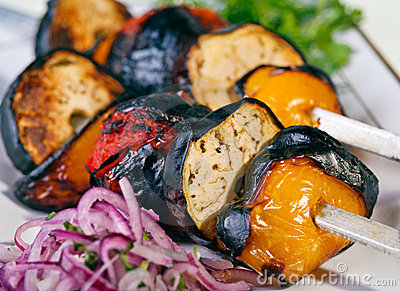 Grilled Vegetable barbeque