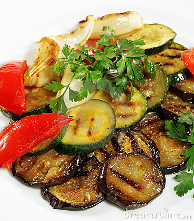 Free Grilled Vegetables Stock Photography - 7728072