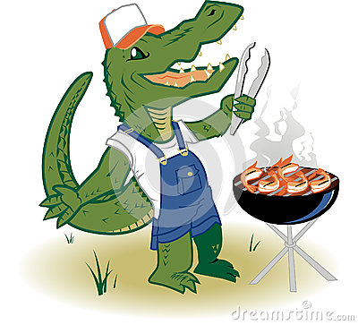 Grillin Country Gator