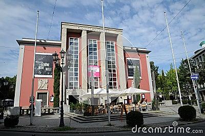 Grillo-Theater in Essen Editorial Stock Photo