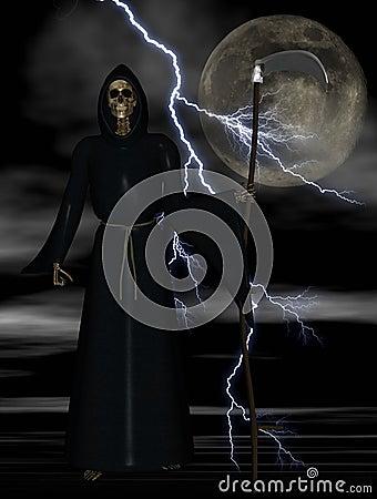 Free Grim Reaper Royalty Free Stock Image - 5421506