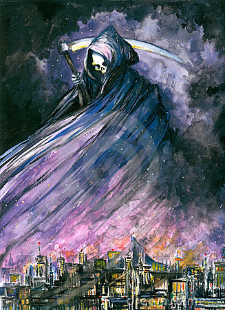 Free Grim Reaper Royalty Free Stock Image - 7790126