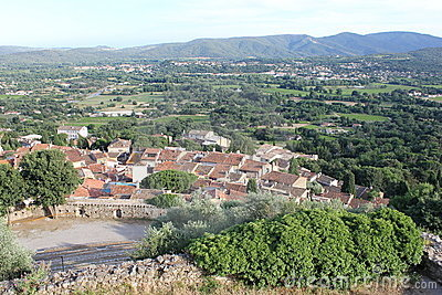 Grimaud on the Southern France