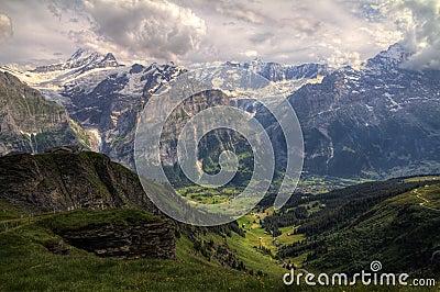 Grindelwald HDR