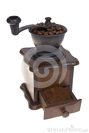 Grinder to coffee