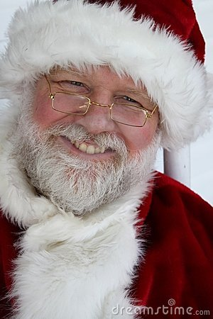 Grinning Santa