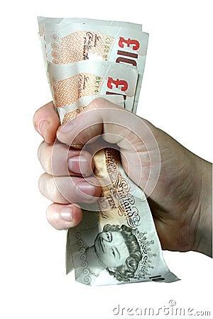 Gripande pengaranmärkningar