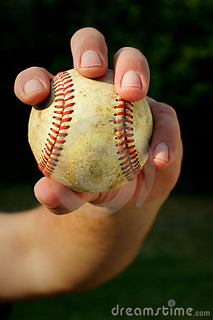 Gripping the ball