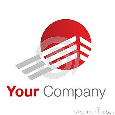 Gris rouge de logo