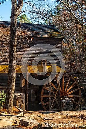 Free Grist Mill In Stone Mountain Park, USA Stock Photos - 106687983