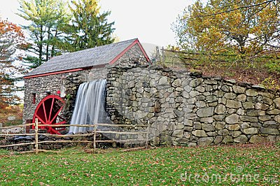 Grist mill view