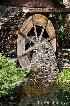 Grist Mill Water Wheel
