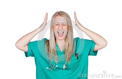 Grito loco del doctor