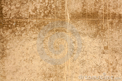 Gritty wall texture