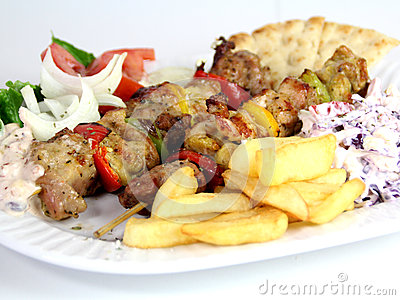 Grlled meat food