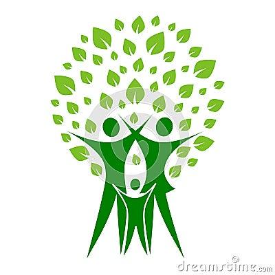 Grüne Familie