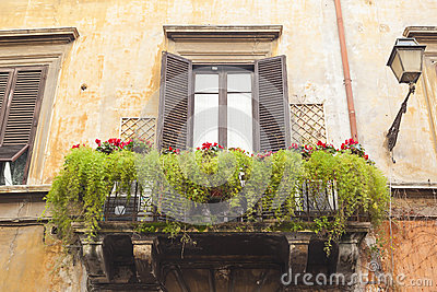 gr ner balkon stockfoto bild 39352748. Black Bedroom Furniture Sets. Home Design Ideas