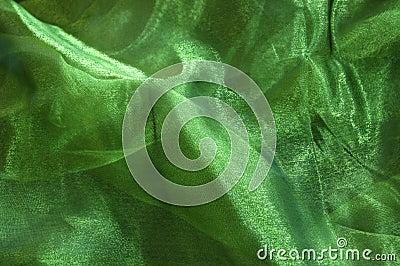 Grünes Drapierung