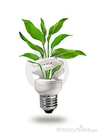 Grünes eco Energiekonzept