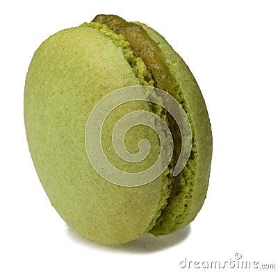 Grünes Macaron