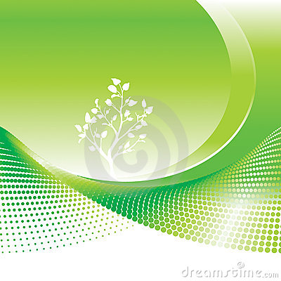 Grünes Umwelt