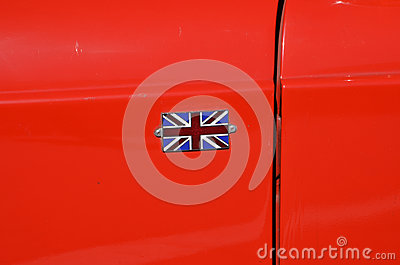 Großbritanniens Markierungsfahne