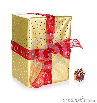 Großes und kleines Geschenk