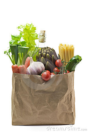 Free Grocery Bag Stock Images - 4284384