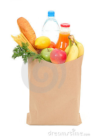 Free Grocery Bag Royalty Free Stock Images - 659659