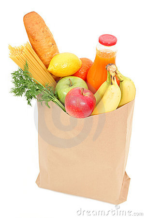 Free Grocery Bag Stock Photos - 659993