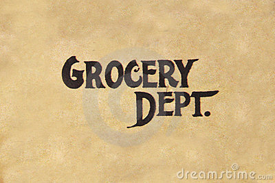 Grocery Dept.