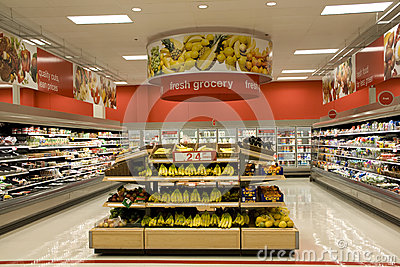 Grocery store Editorial Photo