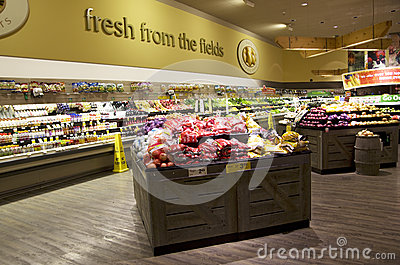 Grocery store Editorial Stock Photo