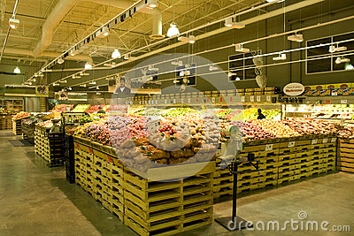 Grocery store supermarket Editorial Photography