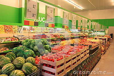 Grocery store Editorial Image