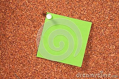 Groene Post-it