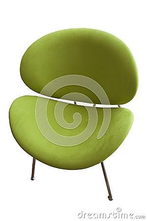 Groene stoel stock fotografie afbeelding 10484752 for Groene stoel