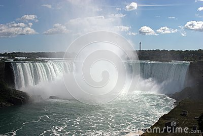 Großes spash Niagara Falls