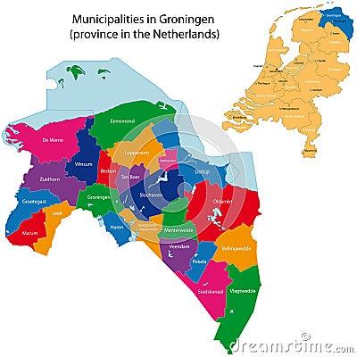 Groningen - province of the Netherlands