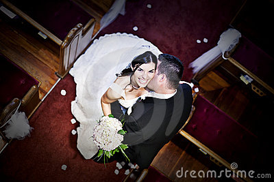 Groom церков невесты