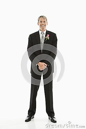 Free Groom In Tuxedo. Stock Photo - 2678610
