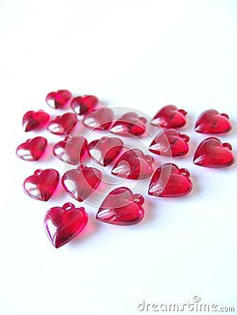 Groot rood hart