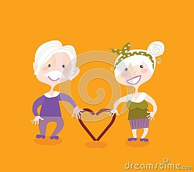 Grootouders in liefde